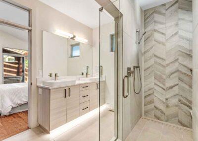 Cloninger Custom Homes bathroom view of home in Bend OR